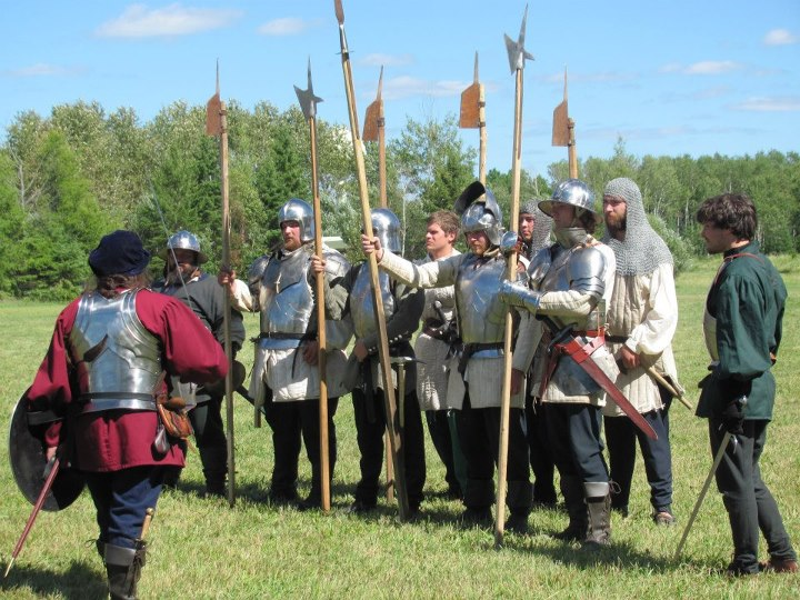 15th century mercenary company, historical reenactment, deer river mn