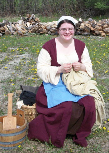 15th Century Washerwoman
