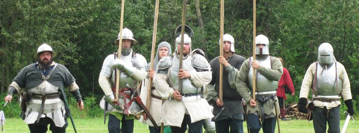 15th century soldier, helmets, kettle hats, mail coif, sallet