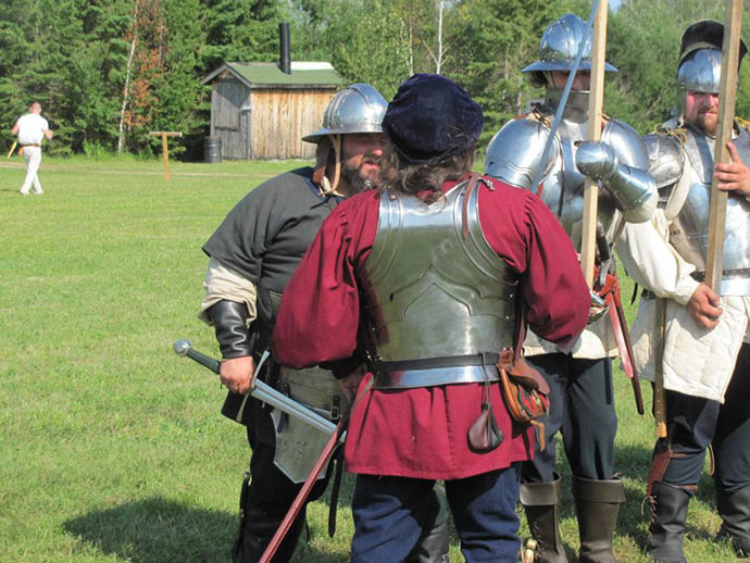 15th century mercenaries, 15th century reenactment, deer river mn