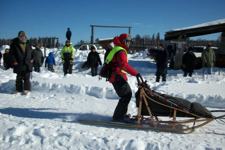 dog sledding, white oak, deer river mn