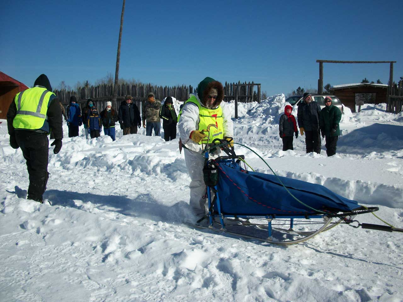 white oak dog sled race, deer river mn