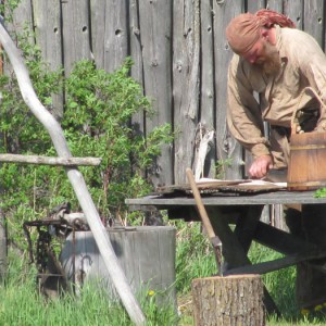 trapper, 18th century, fur trade, reenactment, deer river mn