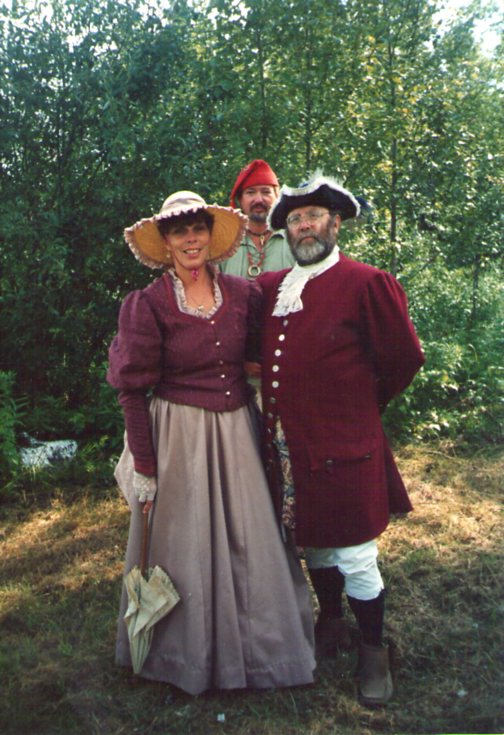 bourgeois, 18th century reenactment, deer river mn