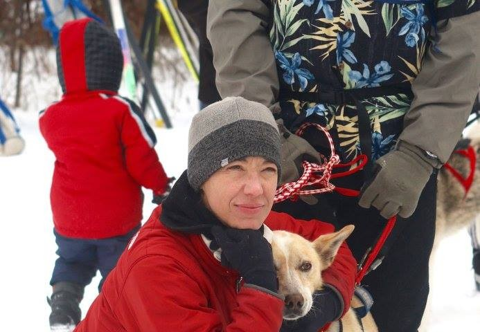 musher, white oak sled dog race, sherri moe