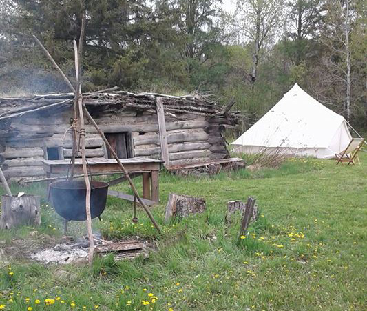 camp, fall, rendezvous, white oak, historical, society